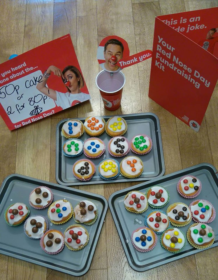 Fairy Cakes for Comic Relief