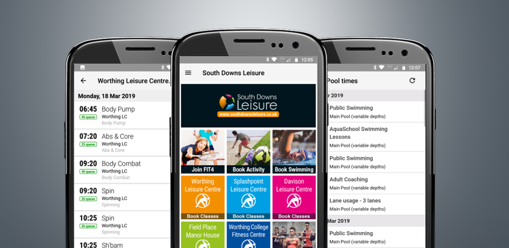 South Downs Leisure App
