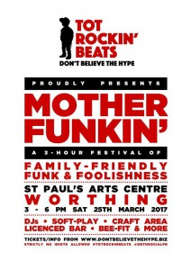 Motherfunkin' Saturday 25th March