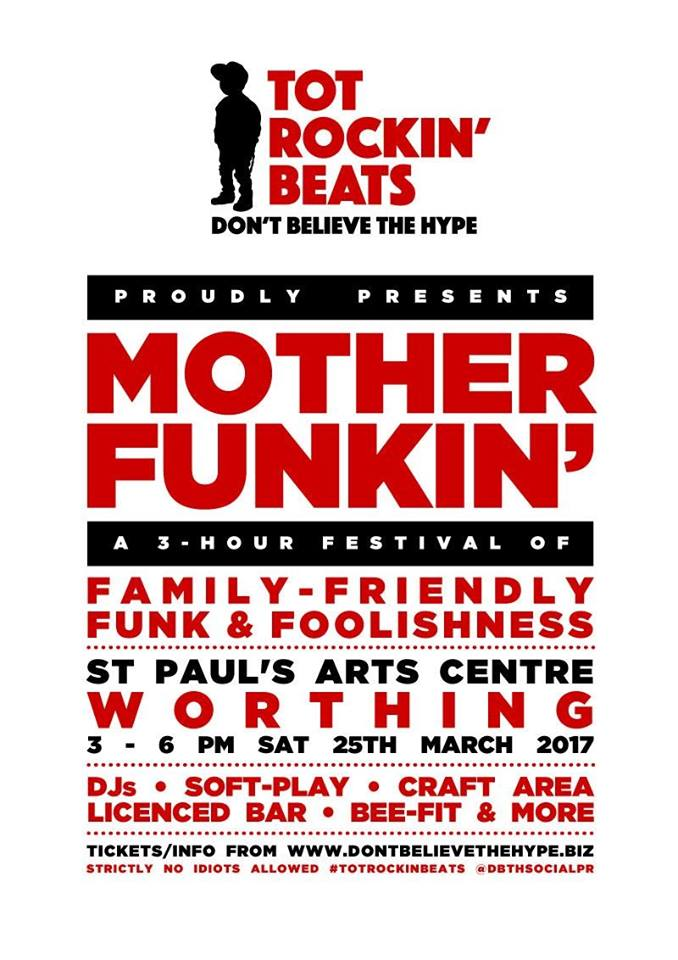 Motherfunkin' Saturday 25th March